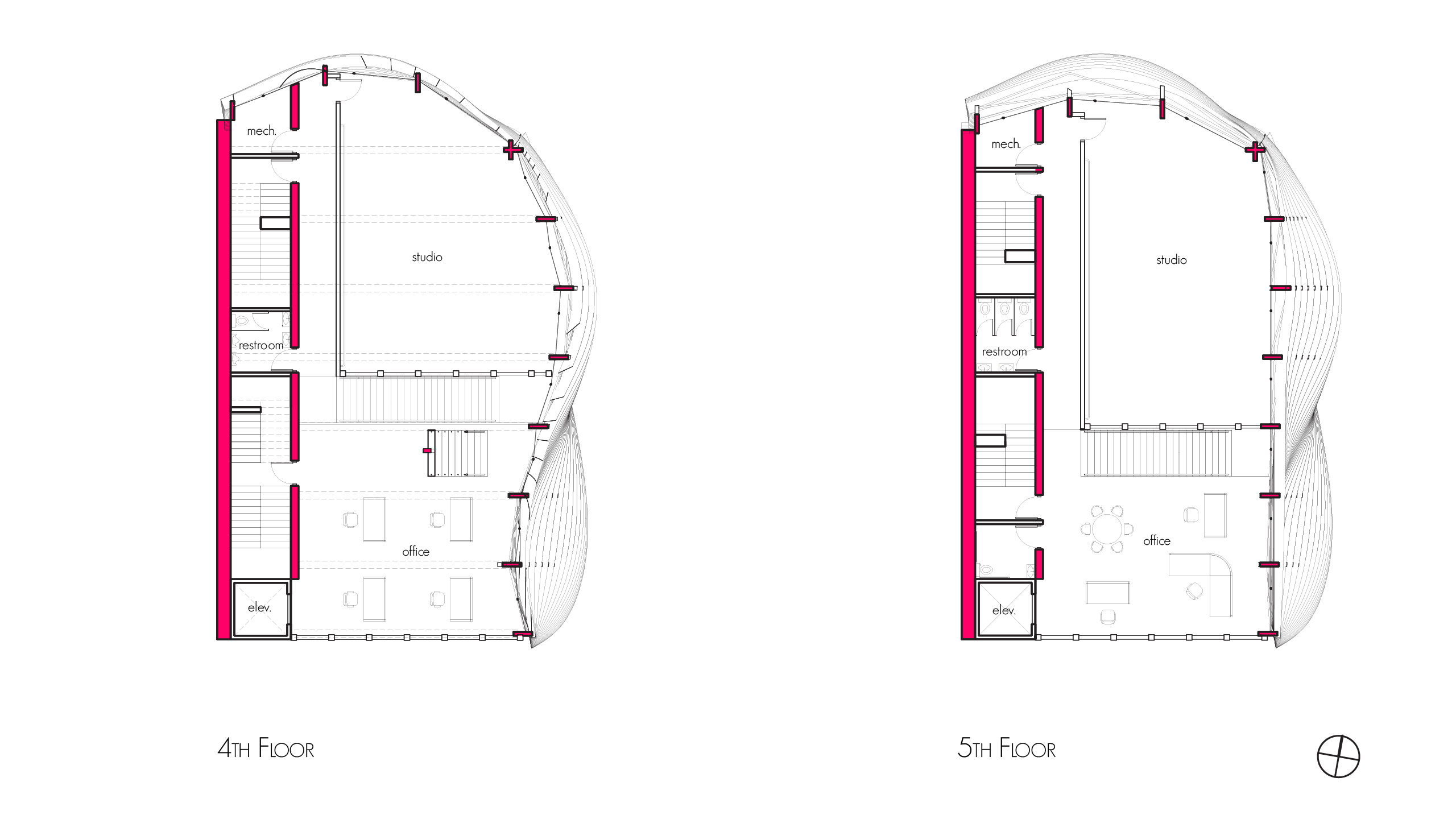 Plans - Fourth Floor and Fifth Floor