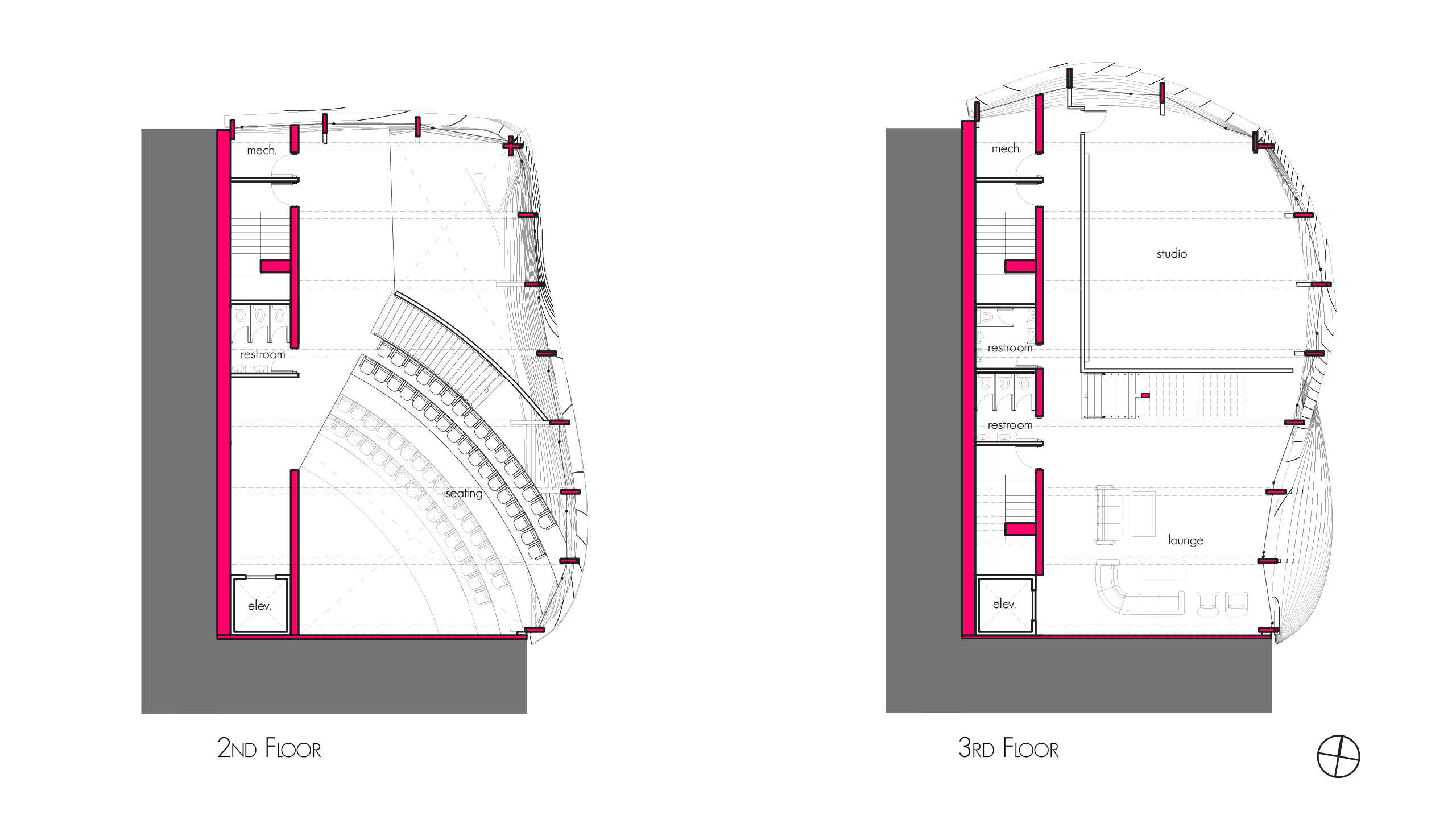 Plans - Second Floor and Third Floor