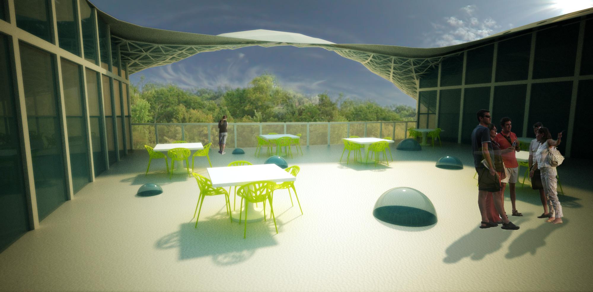 Courtyard Visualization